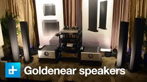 Living Room Speakers New Goldenear Speakers And Subwoofers Ears On At Ces 2016 Youtube