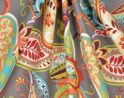 Orange And Beige Curtains Curtains U0026 Window Treatments Etsy