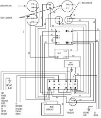 capacitor start run motor wiring diagram turcolea com