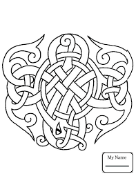 coloring pages for arts culture celtic design celtic