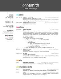 Nice Resume Examples by Latex Templates Curricula Vitae Résumés Design Obviously