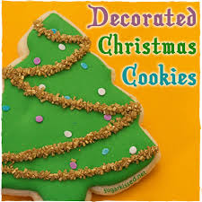 decorated christmas cookies decorated christmas cookies christmas trees