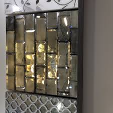 mirror tile backsplash kitchen decorating mirror backsplash tiles for unique kitchen decor ideas