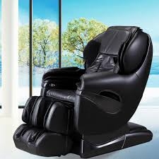 Recliner With Wheels Titan Pro Series Tan Faux Leather Reclining Massage Chair Tp