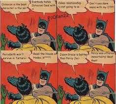Batman Robin Meme - percy jackson batman slaps robin memes by pjofan22 on deviantart