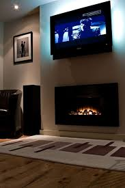 Contemporary Electric Fireplace Nice Electric Fireplace Idea Under Television And Best 25