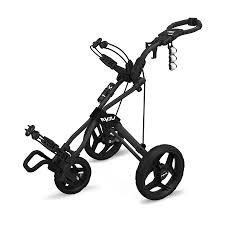 rovic rv3j black golf push cart