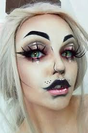 33 halloween makeup looks that are creepy yet cute