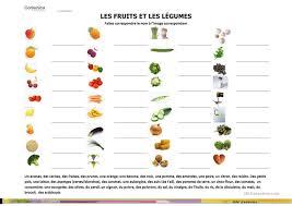 fiche p馘agogique atelier cuisine 53 gratuit fle fruits fiches pédagogiques
