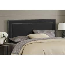 buy upholstered headboard size california king upholstery black