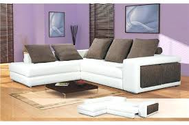 canapé d angle convertible cuir blanc canape d angle convertible cuir blanc canapac couchage quotidien