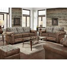 Rustic Living Room Sets Youll Love Wayfair - Country living room sets