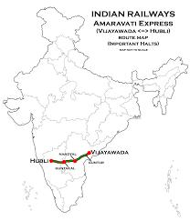6 Train Map File Amaravati Express Vijayawada Hubli Route Map Jpg Wikipedia