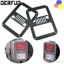 custom jeep tail light covers 2x black car rear tail light covers trims guards tail l guards