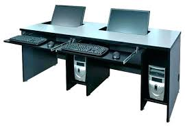 Recessed Computer Desk Two Person Computer Desk Itboy Host