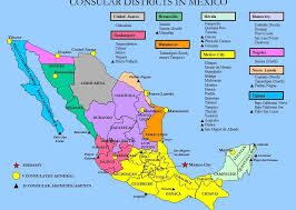 map of the mexico find your consular location u s embassy consulates in mexico