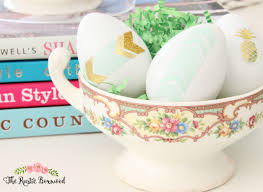 Shabby Chic Decorating Blogs by 4 Diy Easter Egg Crafts The Rustic Boxwood Diy Decorating