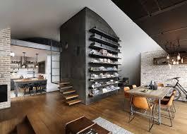 Modern Industrial Home Decor Model