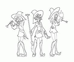 witch coloring page 282056