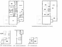 Floorplan Com by Baxter Floor Plan Salisbury Homes