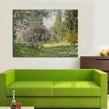 Peinture Moderne Pour Salon by Achetez En Gros Monet Paysage Peinture En Ligne à Des Grossistes