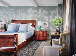 Wallpaper Design In Bedroom 33 Wallpaper Ideas For Every Room Photos Architectural Digest