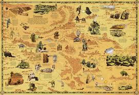 Timeline Maps Star Wars Galactic Maps Illustrator Tim Mcdonagh Interview