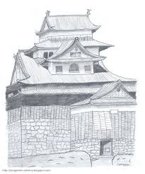 Japanese Castle Floor Plan Image Gallery Japanese Castle Drawing