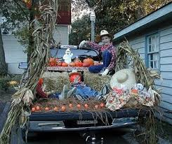 Halloween Costumes Car 57 Trunk Treat Decorating Ideas Images