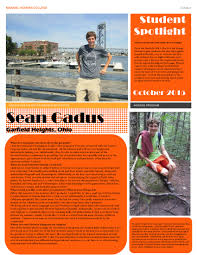 Cleveland State University Campus Map by October 2015 Student Spotlight Sean Gadus Cleveland State