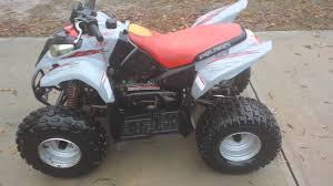 2003 polaris predator 90 walk around and start up youtube