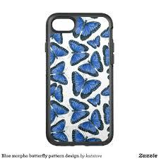 blue morpho butterfly pattern design otterbox symmetry iphone 7