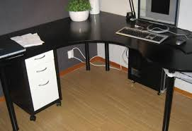 desk black wood computer desk unbelievable kathy ireland