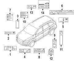 audi q7 interior parts parts com audi q7 interior trim oem parts