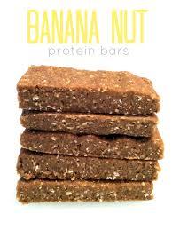 no bake banana nut protein bars hummusapien