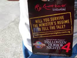 singapore halloween horror nights 2014 second drop attractions democracy is more terrifying than you