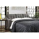 queen sleeper sofa with memory foam mattress amazon com benchcraft gilman collection 9260239 86 u0026quot pull out