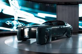 concept rolls royce the rolls royce of the future is an autonomous land yacht with an