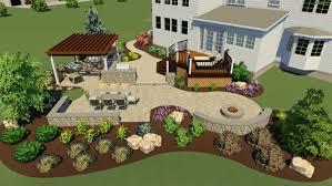 backyard patio design project