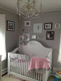 Pink And Gray Nursery Decor Inspiring Pink And Grey Baby Room Photos Best Inspiration Home