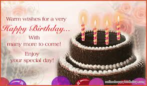 Happy Birthday Wish Warm Wishes For A Very Happy Birthday Pictures Photos And Images