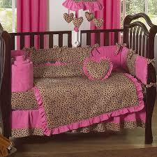 Cheetah Print Crib Bedding Set Leopard Baby Shower Cakes Cheetah Pink And Leopard Print 9