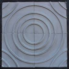 dimensional tile 3d concrete tile rustic elegance handcrafted in los angeles since 1966