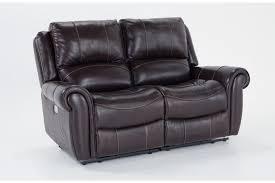 Loveseat Sofas Living Room Furniture Bobs Discount Furniture - Leather sofa portland 2