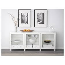 Ikea Besta Glass Doors by Bestå Storage Combination With Doors White Glassvik White Clear