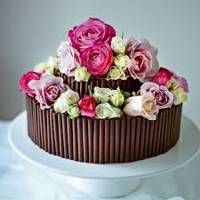 Cake Photos Jo Wheatley U0027s Rose And Chocolate Wedding Cake Woman And Home