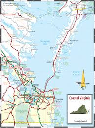 virginia map coastal virginia map