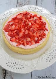 strawberry lemon cake my cake