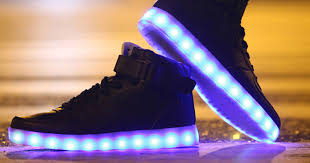 la light up shoes these light up shoes use high tech led lights