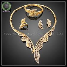 necklace gift sets images South indian gold plated necklace earring set bollywood jpg